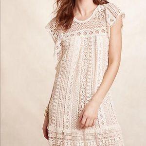 Anthropologie Crochet Dress MP